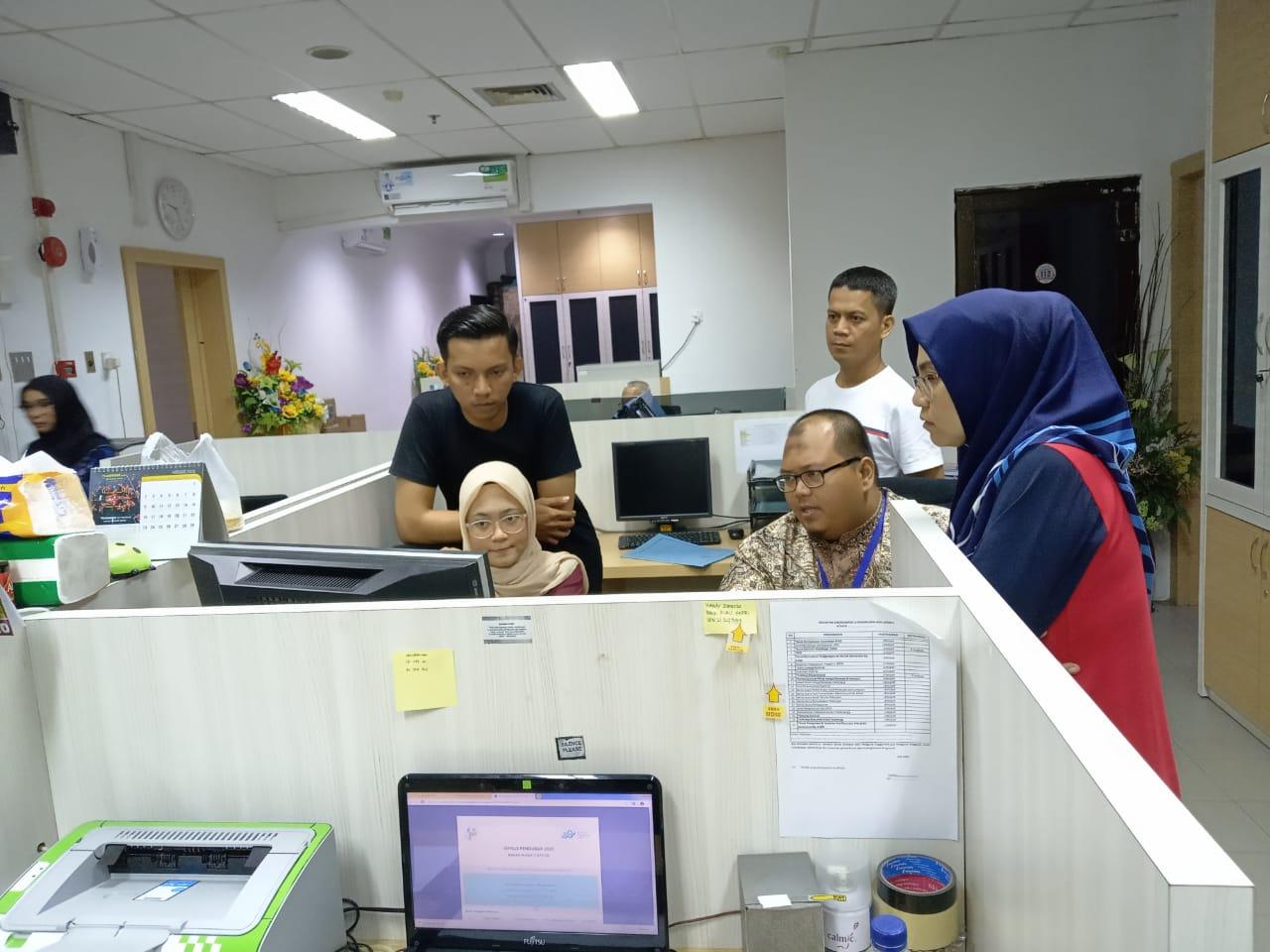 Kunjungan Tim IT Support Diskominfo Batam ke Bagian Umum Setdako Batam
