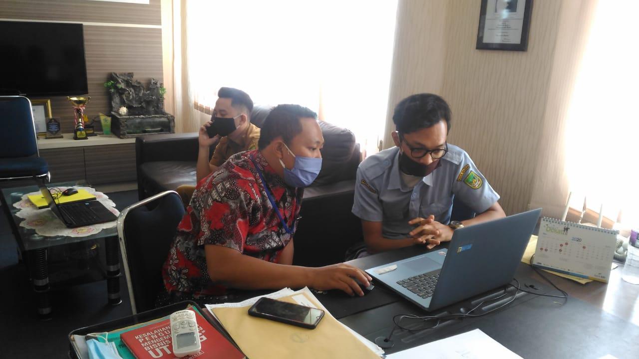 Kunjungan IT Support Diskominfo Batam ke Kecamatan Sagulung