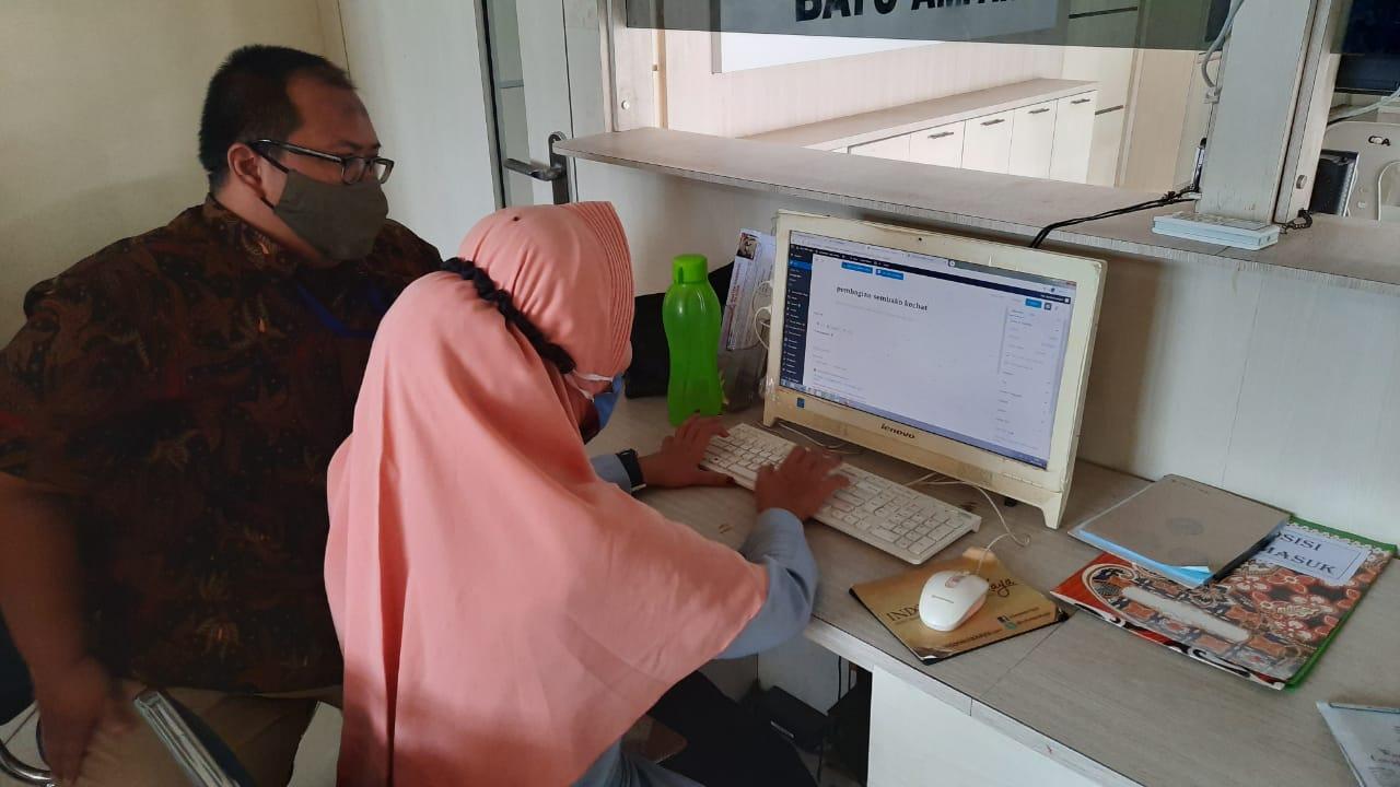 Kunjungan IT Support Diskominfo ke Kecamatan Batu Ampar