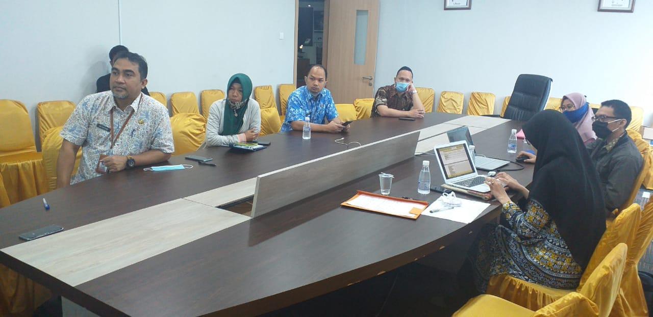 Presentasi Report Perizinan Oleh Diskominfo Batam di Mal Pelayanan Publik (MPP)