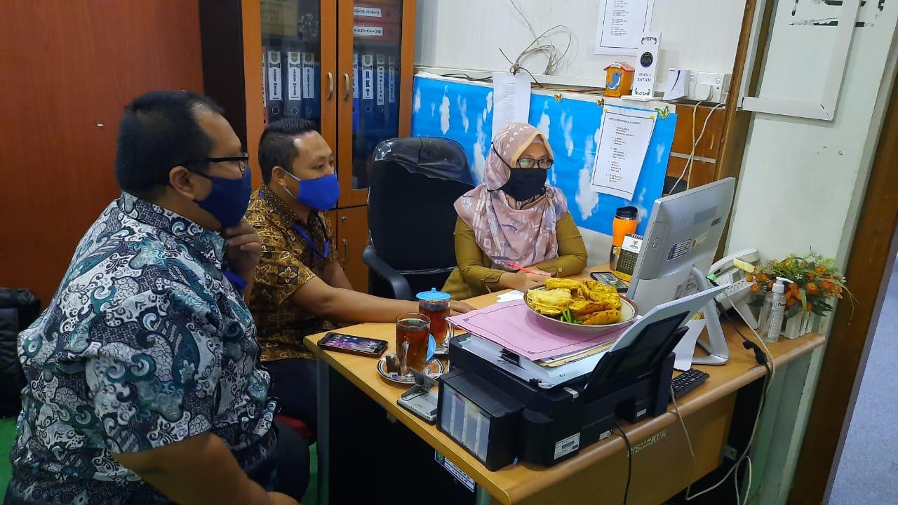 Kunjungan IT Support Diskominfo Batam ke Dinas Tenaga Kerja Kota Batam