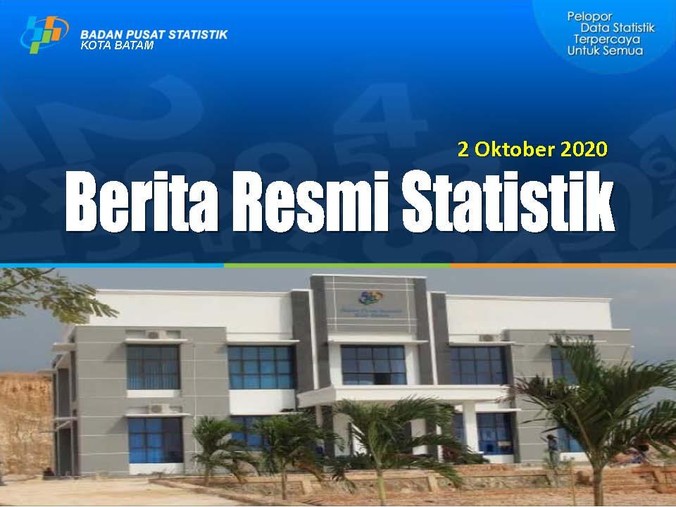 Berita Resmi Statistik dari BPS Kota Batam 02 Oktober 2020
