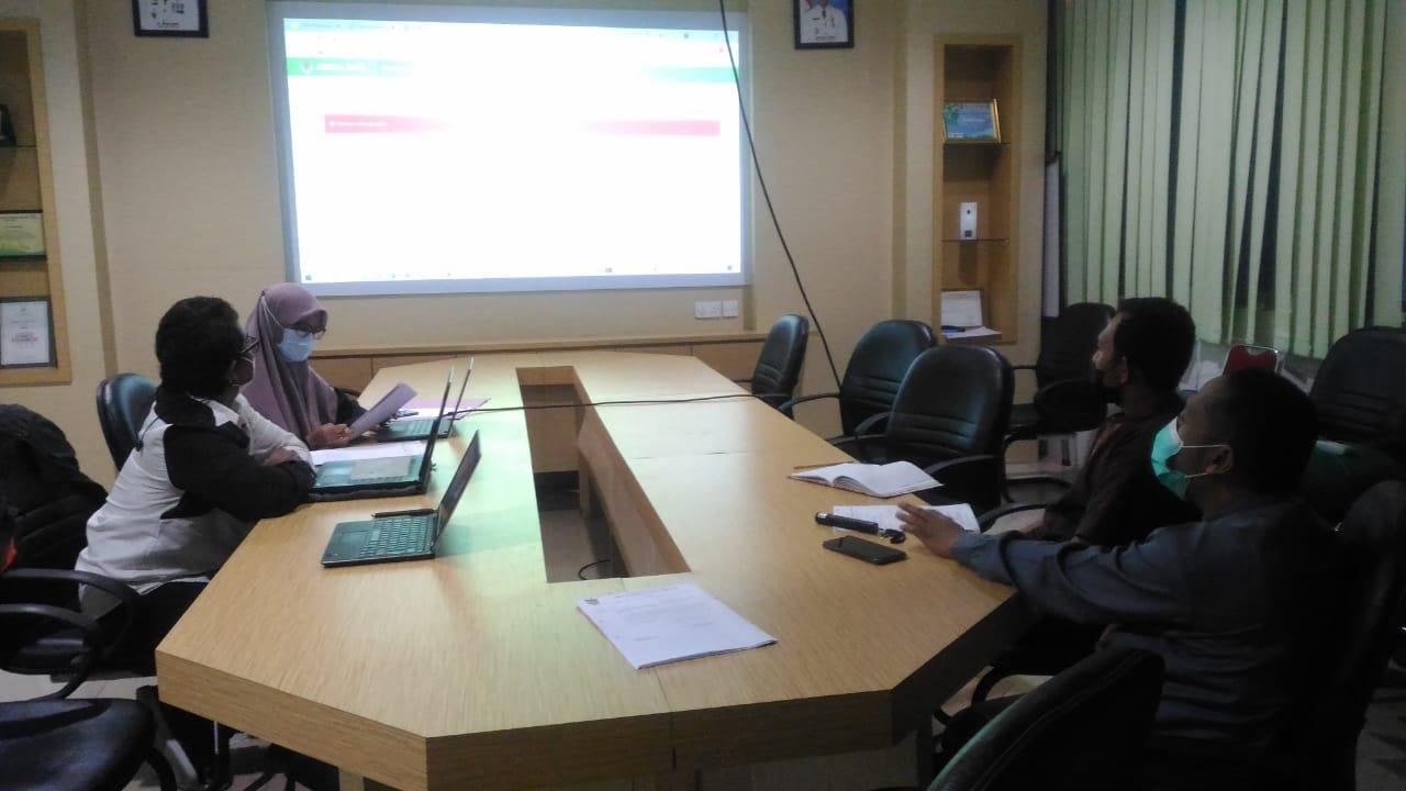 Rapat Teknis Pembahasan Sistem Informasi Lingkungan Hidup Bersama Dinas Lingkungan Hidup Kota Batam